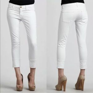 Current/Elliott The Beatnik White Jeans
